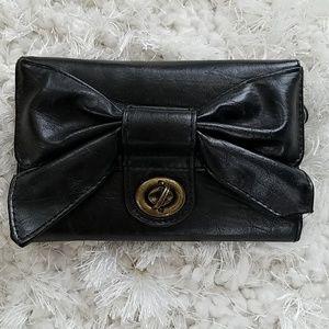 Girls black wallet